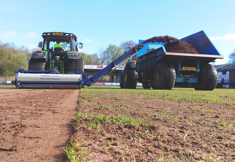 One of the UK's leading specialist sportsturf contractors
