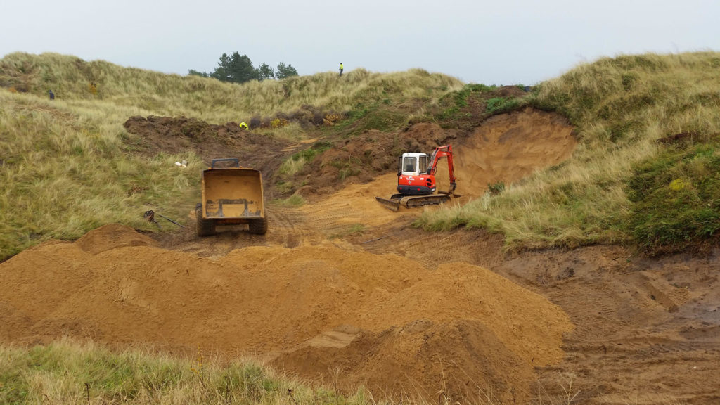 Ground Works for Golf Courses