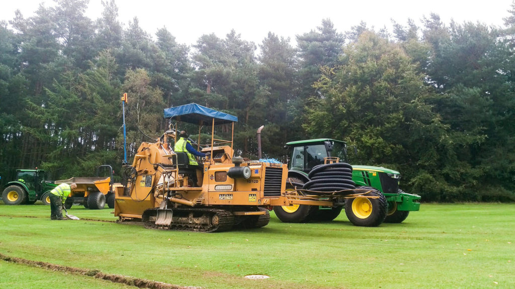 Golf Courses, Pipe Laying