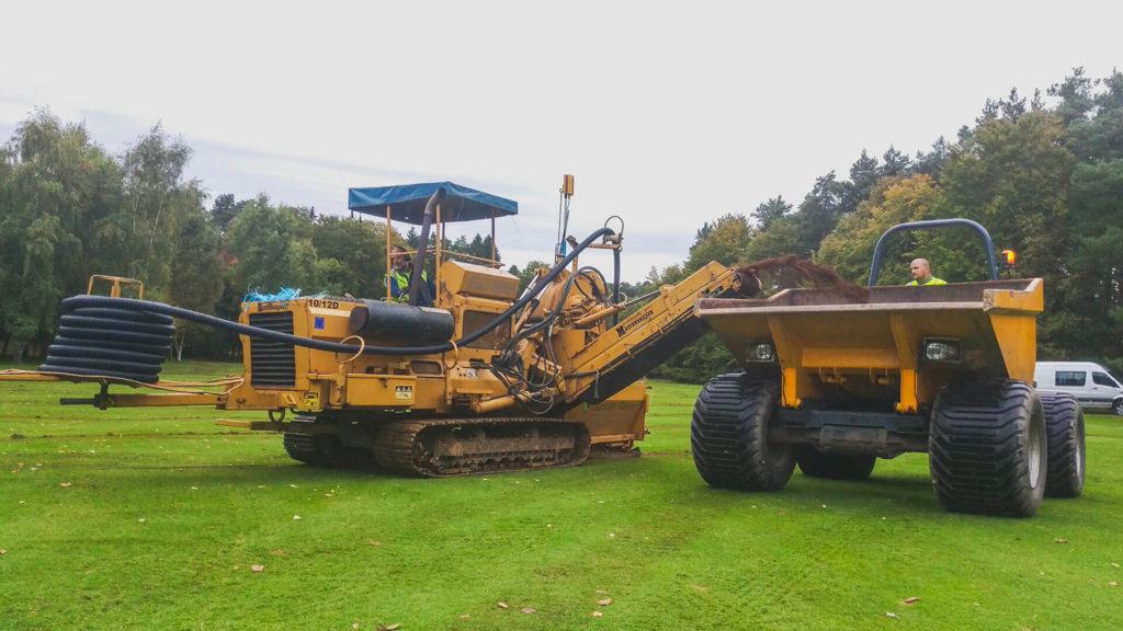 Land Dreainage Pipe Laying