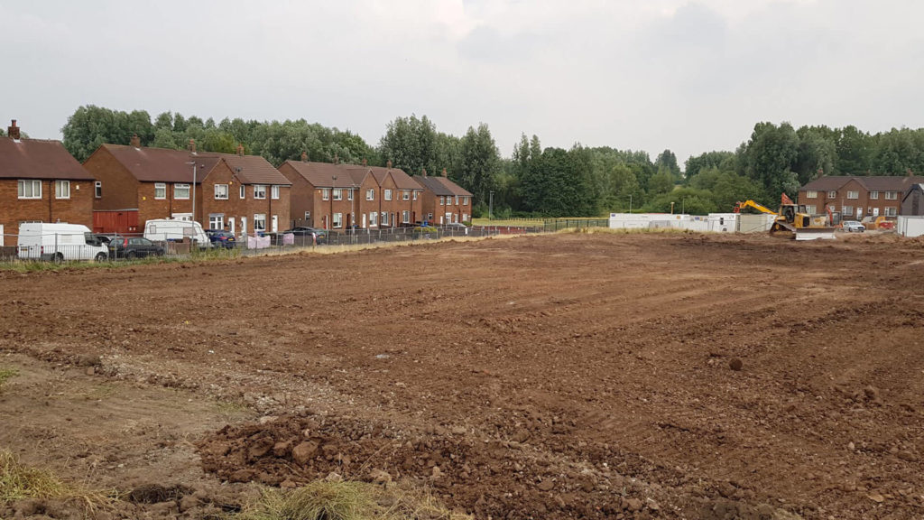 Sports Turf Pitch Construction