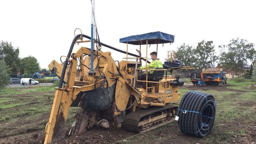 Digging Drainage