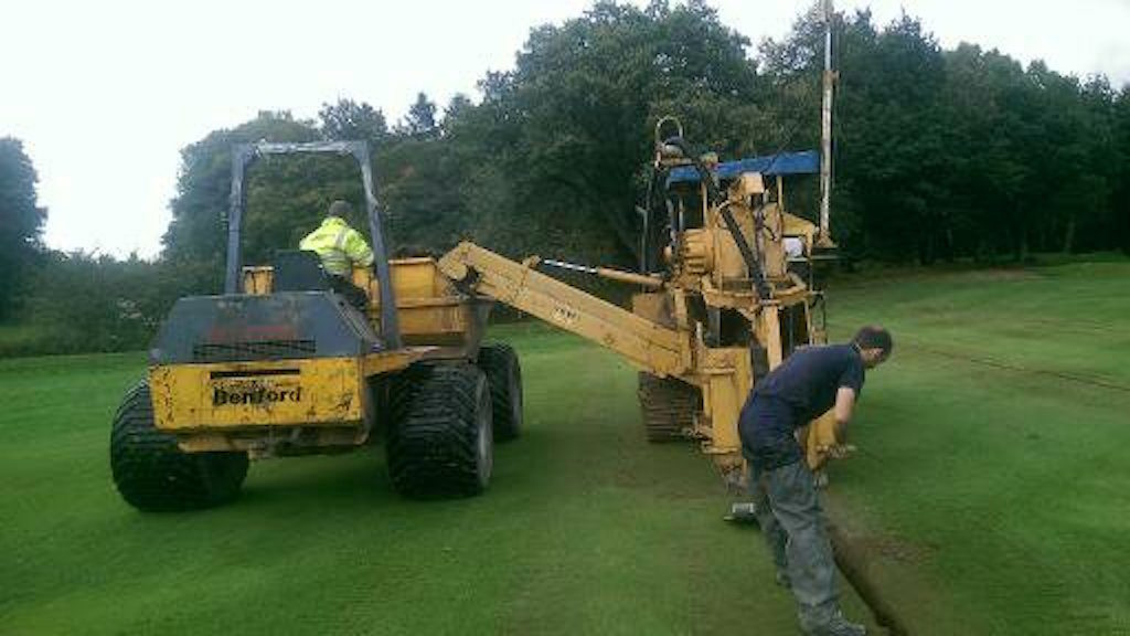 Carlisle Golf Club Drainage Work